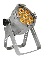 LITECRAFT LED Mini PAR AT10, 7x 10 W RGBA, 15°, DMX, silver