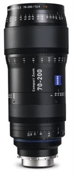 Zeiss CZ.2 Compact zoom 70-200mm T2.9-T22 objektiv. Meter, PL