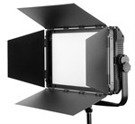 Fomex EX1200 2700-6500°K location/studio LED lampa, 120W med flaps