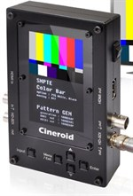 Cineroid video/audio testgenerator, monitor, konverter & kabeltester