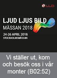 Ljud, Ljus & Bild Mässan 2018