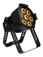 LITECRAFT LED Mini PAR AT10, 7x 10 W RGBA, 15°, DMX, svart