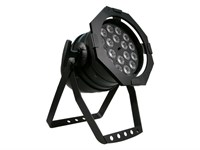 LITECRAFT LED PAR64 AT10  RGBA 4-i-1 18 x 10 W, 25°, DMX, Svart