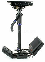 Steadicam M-1 släde m 2 stegs post, V-mount batterifäste utan monitor