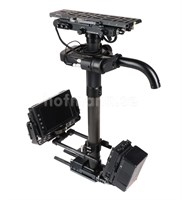 "Steadicam M-2 släde. Fast top, Volt, 3S 1.75"" post, V-mount u monitor"