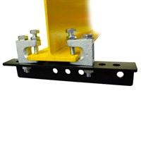 Doughty Girder Clamp with Lindaptors.75-150mm