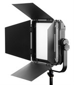 Fomex EX600 2700-6500°K location/studio LED lampa, 60W med flaps