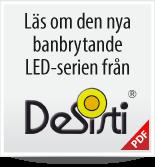 Press Release: DeSistis nya LED-serie