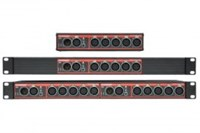 Swisson DMX splitter 2x1-5, XSP-5R-5R, double Rack, 5p-XLR