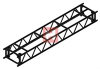 Truss HOFFORK 350 MLT², L=3200mm, rör 48,3 x 4,5mm, stag 30x3mm