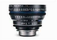 Zeiss Compact Prime CP.2 Super Speed 50mm T1.5 objektiv med PL-mount.