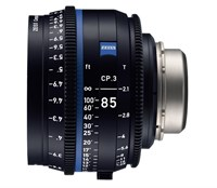 Zeiss Compact Prime CP.3, 85mm, T2.1, objektiv med PL-mount
