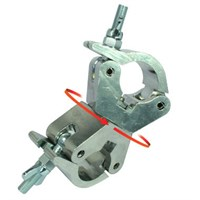 Doughty Standard Swivel Coupler/clamp, Stainless steel